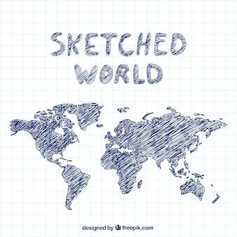 Sketched world