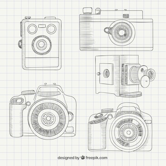 Sketchy cameras collection