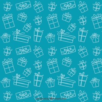 Sketchy gifts pattern