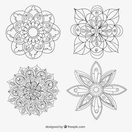 Sketchy mandalas collection