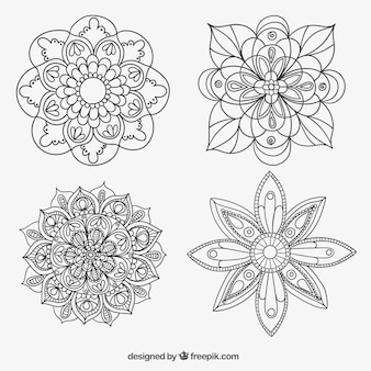Sketchy mandalas collection