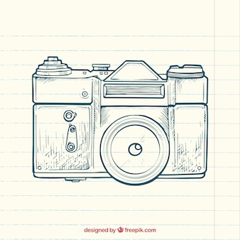 Sketchy photo camera