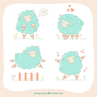 Sketchy sheeps