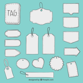 Sketchy tags collection