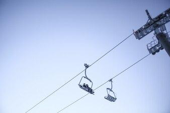 Sky and Ski Lift