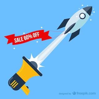 Skyrocketing sales