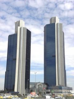 Skyscrapers in Istanbul