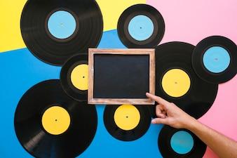 Slate on various vinyls