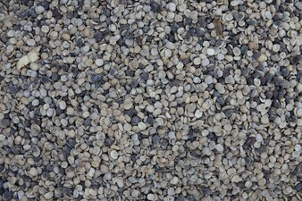 Small stone flooring