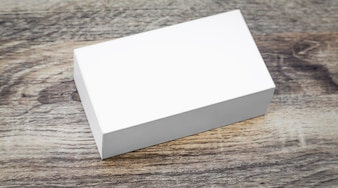 Small white box
