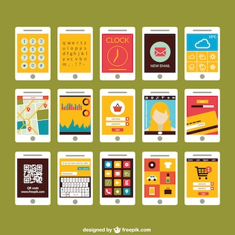 Smartphone screen collection