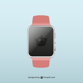 Smartwatch illustration vector