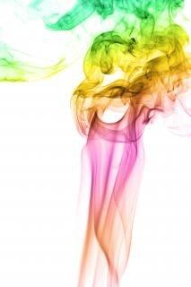 Smoke , smoke, aroma, color