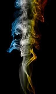 smoke, aroma, smell, art