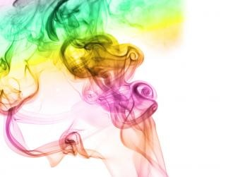smoke, smell, color, aromatherapy