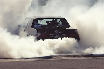 Smoke car