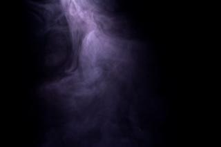 Smoke, translucent, isolated