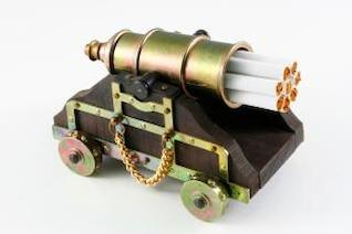 smoking kills  barrel