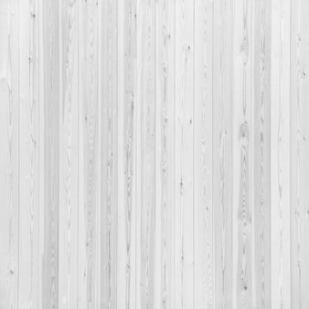 Smooth fence laid with white planks