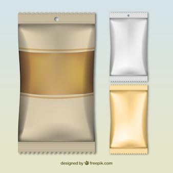 Snack packagings