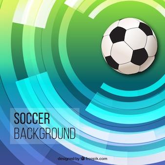 サッカーボールの背景
