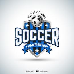 Soccer team badge