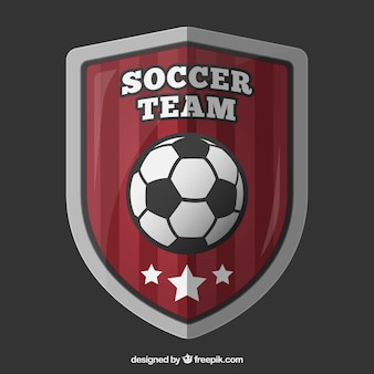 Soccer team shield