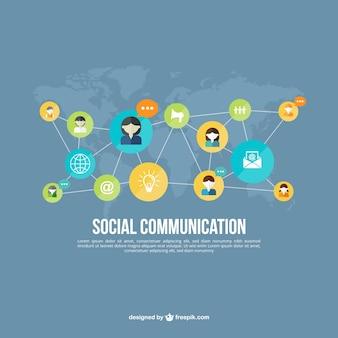 Social communication net