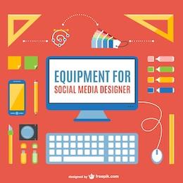 Social media designer pack