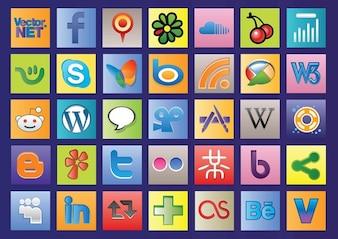 Social Web Vectors