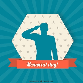 soldier silhouette background for memorial day