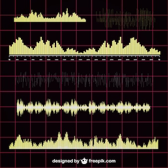 Soundwave vector collection