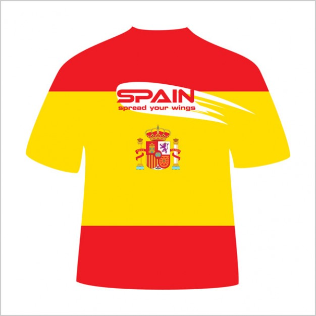 Spain T-Shirt design vector