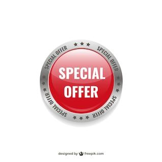 Special offer label