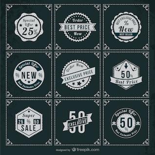 Special offer retro stickers