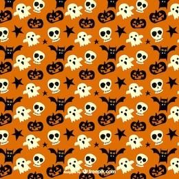 Spooky pattern for Halloween