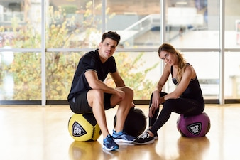 Sport active lifestyle muscle fitness