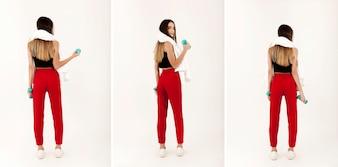Sport girl body