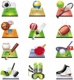 sports related icon    vector