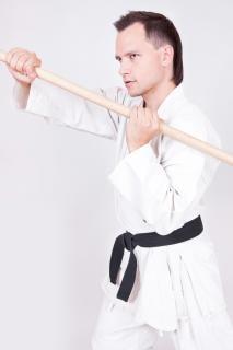 Спортсмен Квон боевых