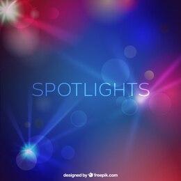 Spotlights background