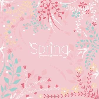Spring floral vector illustration