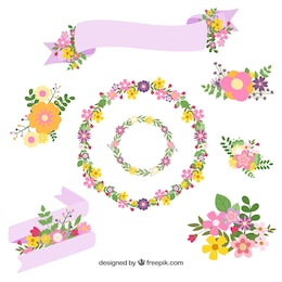 Spring ornaments