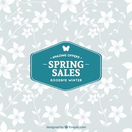 Spring sales label
