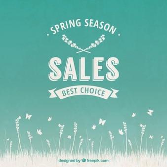 Spring season sales
