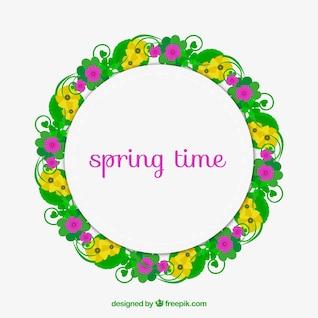 Spring time frame