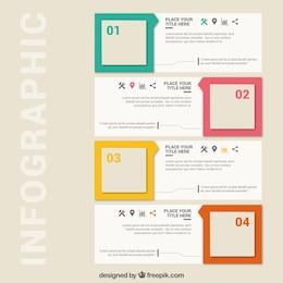 Square infographics