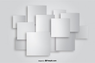 Square Paper Cutout Background