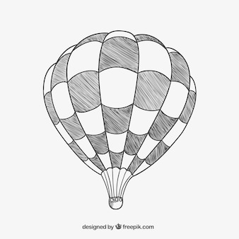 Squared air balloon