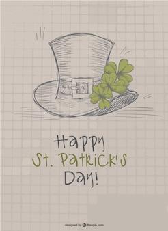 St Patrick's doodle design